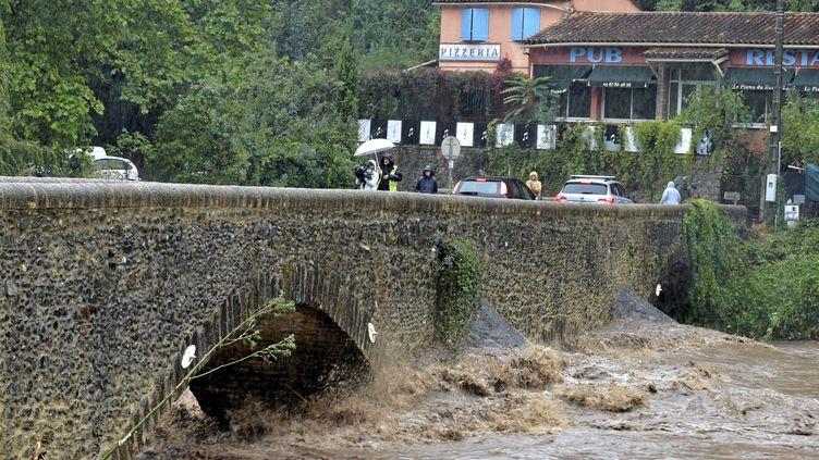 Orages, pluies, inondations, un nouvel épisode cévenol. Le Gard est en alerte rouge. L'Hérault et la Lozère en orange. (MAXPPP)