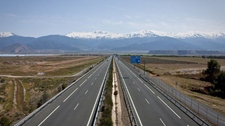 Autoroute en Andalousie. (AFP)