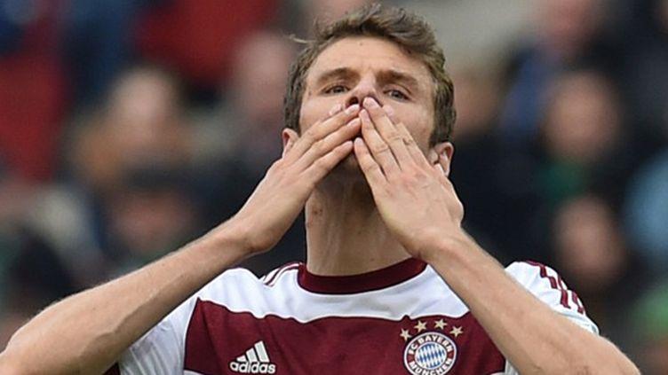 Bons baisers de Thomas Müller (Bayern Munich) (CARMEN JASPERSEN / DPA)