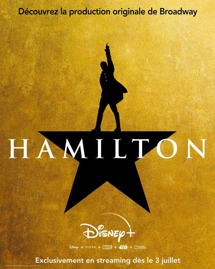 La comédie musicale à succès Hamilton débarque sur Disney + le 3 juillet. (Disney +)