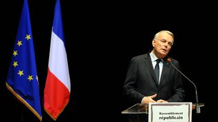 Le Premier ministre Jean-Marc Ayrault à Toulouse (Haute-Garonne), le 19 mars 2014. (REMY GABALDA / AFP)
