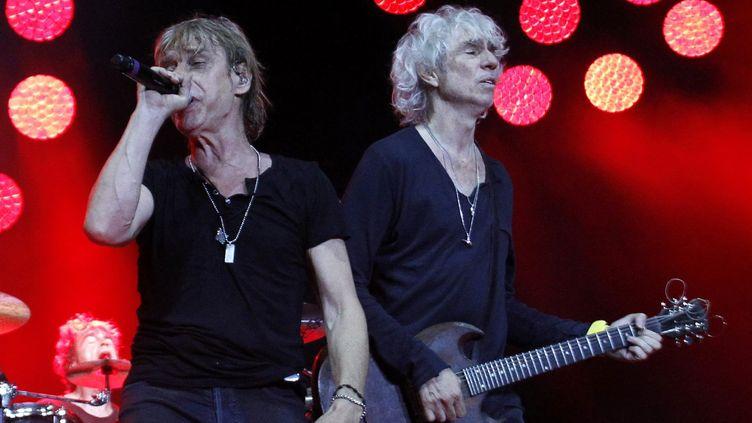 Les Insus? en concert à Argellies sur mer, en juillet 2016  (RAYMOND ROIG / AFP)