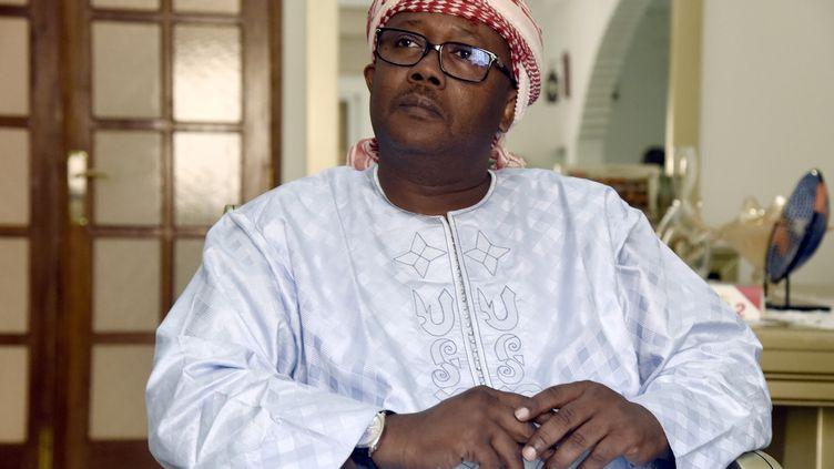 Umaro Sissoco Embalo, alors vice-président de la Guinée-Bissau, photographié le 28 décembre 2019 à la veille du scrutin présidentiel. (SEYLLOU / AFP)