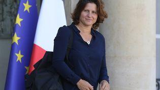 La ministre des SportsRoxana Maracineanu à l'Elysée, le 11 septembre 2019. (LUDOVIC MARIN / AFP)