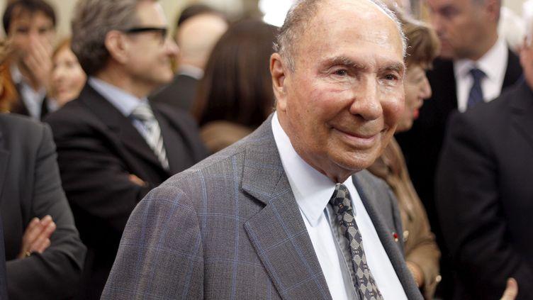 Le sénateur UMP Serge Dassault, le 9 janvier 2012, à l'hôtel Matignon, à Paris. (MAXPPP)