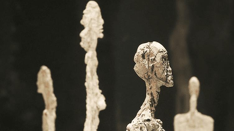 """""""Les femmes de Venise"""", sculpture d'Alberto Giacometti exposée au LaM de Villeneuve d'Ascq  (France 3 / Culturebox )"""