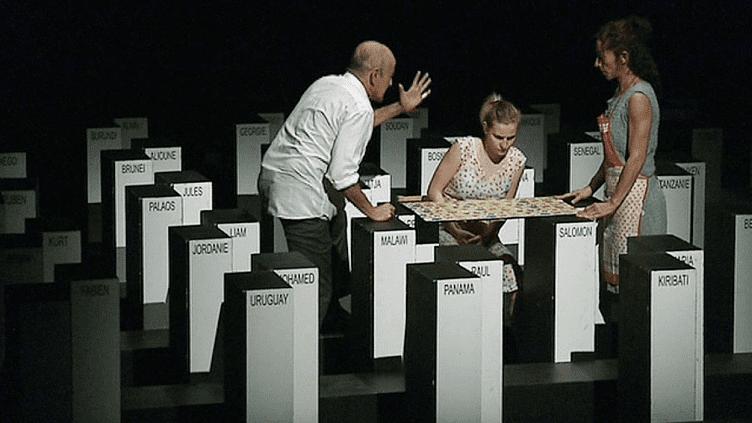 """""""Deux Mille Dix Sept"""" nouvelle chorégraphie de Maguy Marin présentée à Nancy puis en tournée dans toute la France  (France 3 / Culturebox )"""