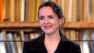 """Amélie Nothomb invitée du journal de France 3 pour son 25e roman """"Riquet à la houppe""""  (France 3 / Culturebox)"""