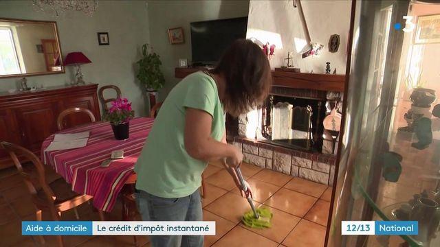 Emploi à domicile : les particuliers employant des salariés bénéficieront du crédit d'impôt instantané