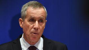 Le procureur François Molins, le 3 octobre 2018 au tribunal de Paris. (CHRISTOPHE ARCHAMBAULT / AFP)