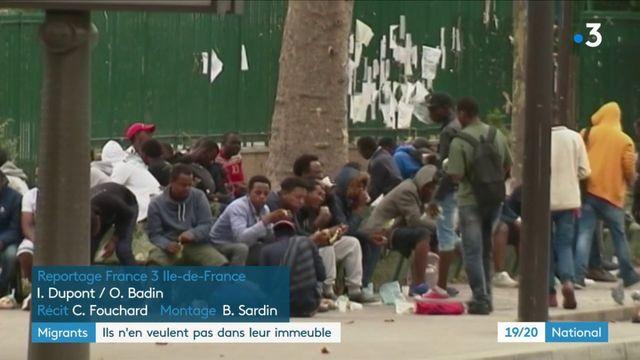 Migrants : ils n'en veulent pas dans leur immeuble