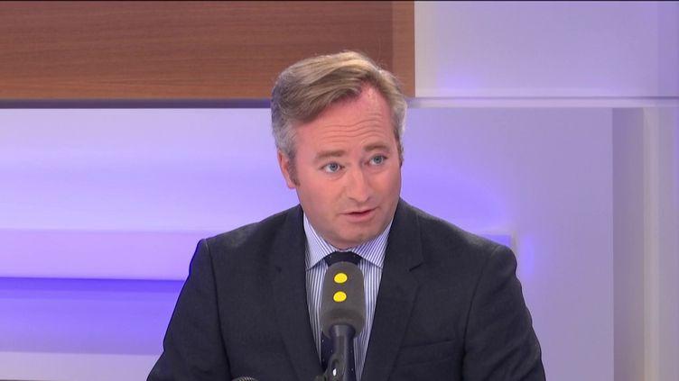 Jean-Baptiste Lemoyne, secrétaire d'État auprès du ministre de l'Europe et des Affaires étrangères (FRANCEINFO / RADIOFRANCE)