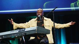 Le chanteur Wyclef Jean lors d'un concert à Hollywood en mai 2019 (TOMMASO BODDI / GETTY IMAGES NORTH AMERICA)
