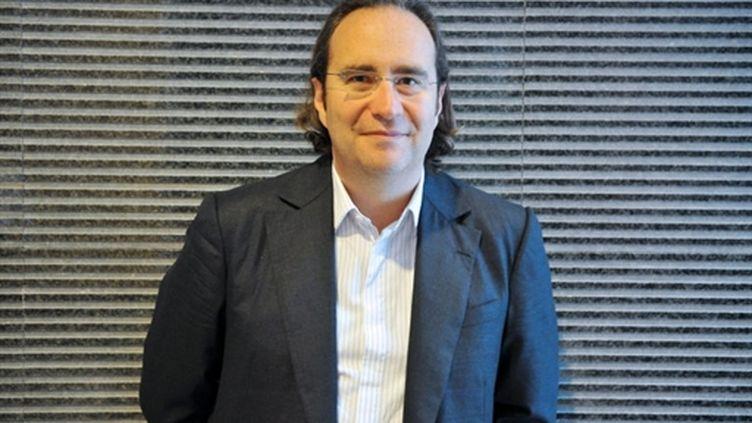 Xavier Niel, patron de d'Iliad, maison-mère de Free (AFP/LIONEL BONAVENTURE)