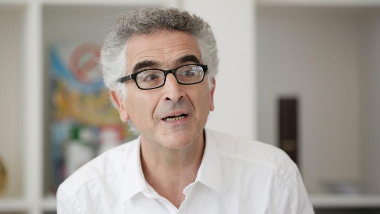 Gilles Lazimi, professeur associé en médecine générale à Sorbonne-Université et militant associatif membre de SOS Femmes 93 et du Collectif féministe contre le viol, (18 juin 2016, à Paris). (VINCENT ISORE / MAXPPP)