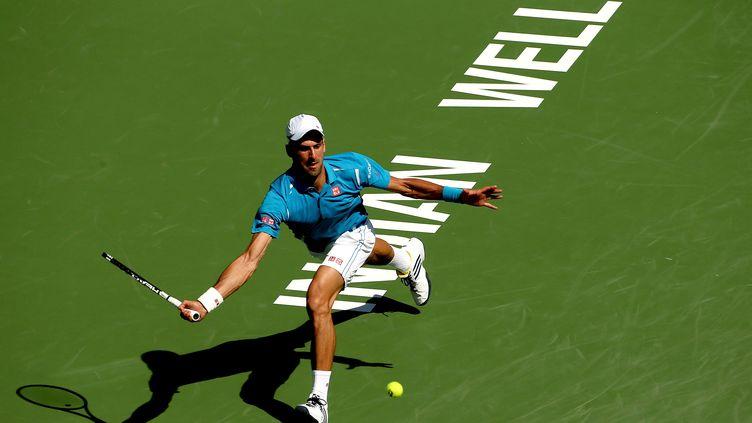 Nouveau sacre pour Novak Djokovic à Indian Wells (MATTHEW STOCKMAN / GETTY IMAGES NORTH AMERICA)