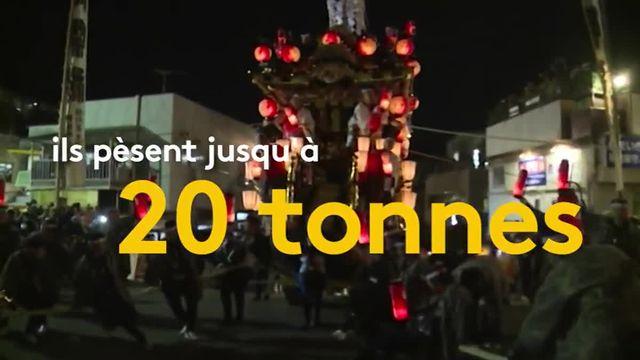 Découvrez le festival de nuit de Chichibu au Japon
