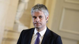 Laurent Wauquiez, député UMP de Haute-Loire, en avril 2013 à l'Assemblée nationale. (KENZO TRIBOUILLARD / AFP)
