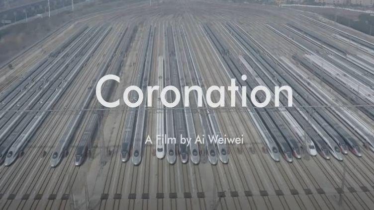 """Générique de """"Coronation"""" un film d'Ai Weiwei. (CAPTURE D'ECRAN YOUTUBE)"""