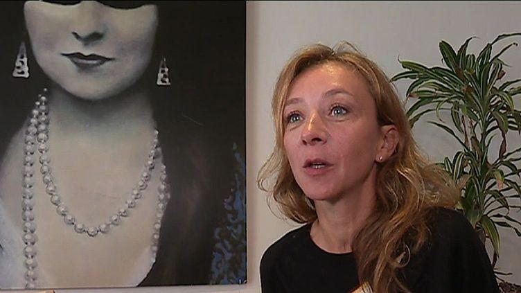 Sylvie Testud, présidente du jury du festival de la fiction audiovisuelle de La Rochelle  (France 3 / Culturebox)