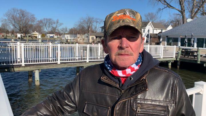 Paul Crane, 72 ans, garagiste à la retraite, Deale, Maryland. (FRANCK MATHEVON / RADIO FRANCE)