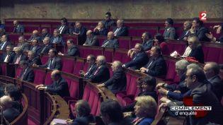 Assemblée Nationale (CAPTURE ECRAN FRANCE 2)