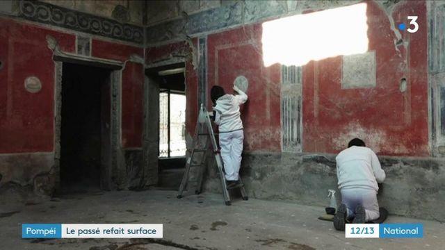 Pompéi : trois domus rouvrent au public