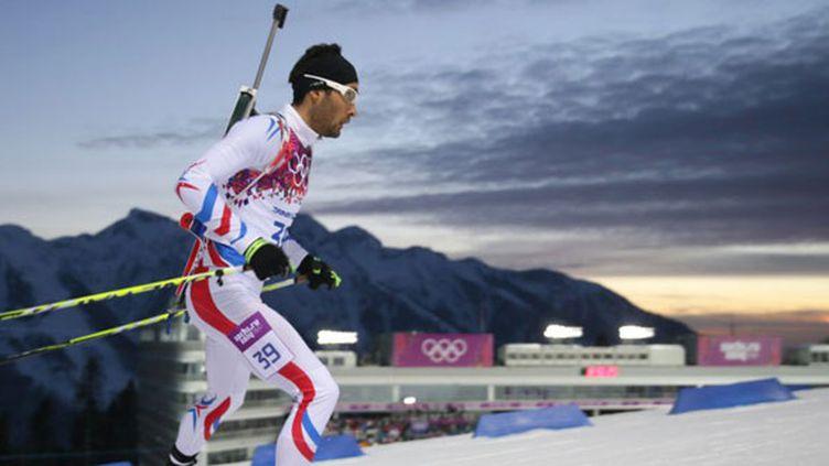 Le leader du biathlon français, Martin Fourcade