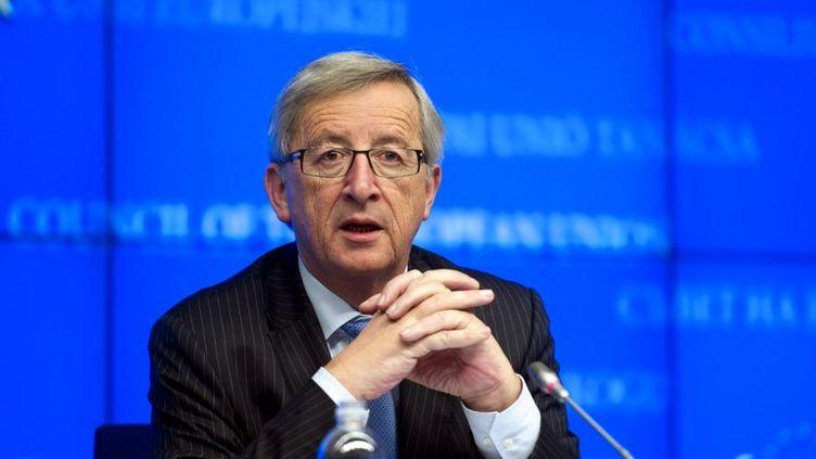 Jean-Claude Juncker, le 26 novembre 2012. (JOCK FISTICK / AFP)