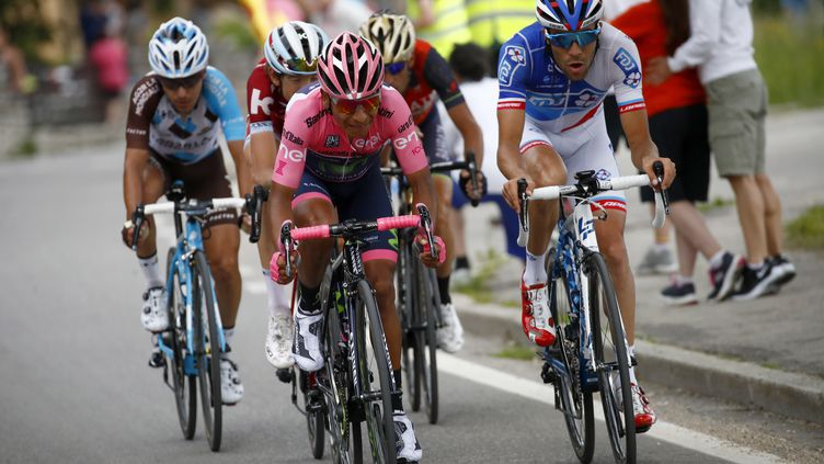 Thibaut Pinaut au Giro 2017  (LUCA BETTINI / POOL)