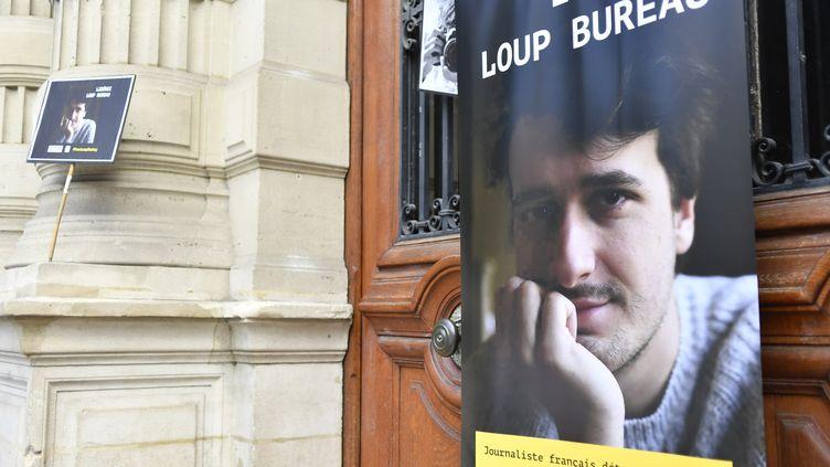 Le journaliste français indépendant Loup Bureau, détenu en Turquie depuis le 1er août 2017. (JULIEN MATTIA / NURPHOTO / AFP)