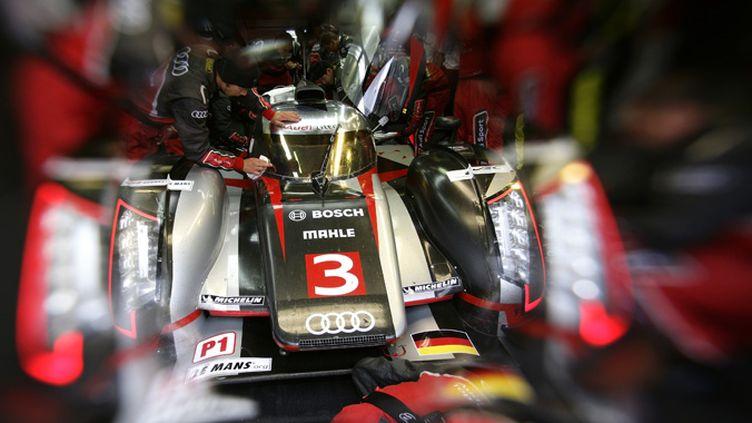L'Audi R18 vainqueur à Sebring (AUDI COMMUNICATIONS MOTORSPORT / AUDI COMMUNICATIONS MOTORSPORT)