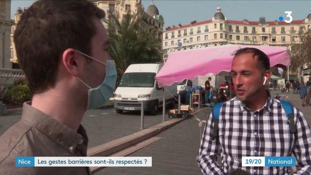 Reconfinement à Nice : un certain relâchement observé chez les habitants