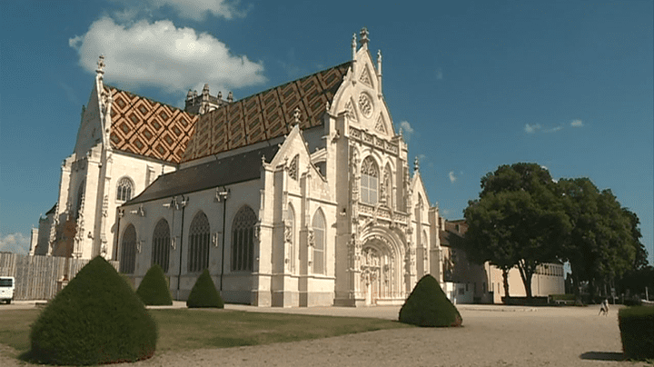Le monastère royal de Brou, chef-d'oeuvre du Gothique flamboyant.  (France 3 / Culturebox)