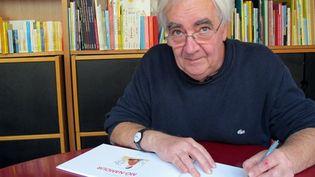 Claude Ponti à L'école des loisirs, sa maison d'édition  (Laurence Houot / Culturebox)