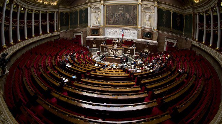 L'Assemblée nationale à Paris le 7 octobre 2013. (JOEL SAGET / AFP)