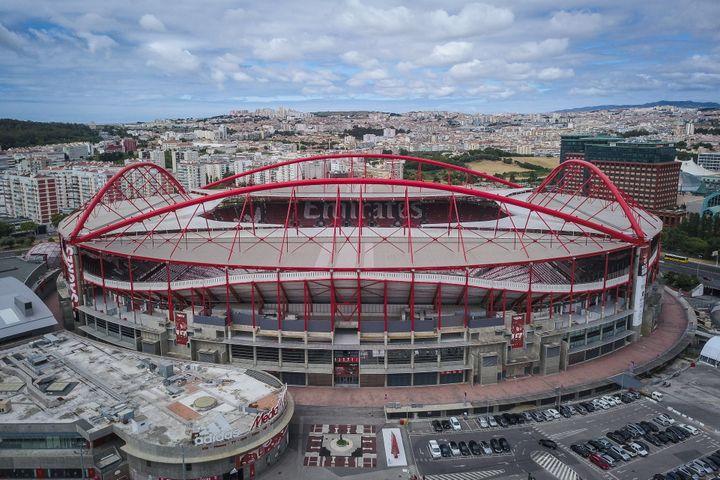 Stade de Luz, théâtre de la finale de la Ligue des champions 2020 (MARIO CRUZ / EPA/LUSA)