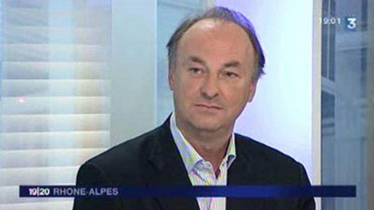 Professeur Bruno Lina, président du Groupe d'expertise et d'information sur la grippe (Geig). (© France 3)