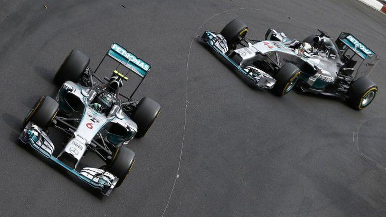 Lewis Hamilton et Nico Rosberg aux portes du sprint final. (HOCH ZWEI / HOCH ZWEI)