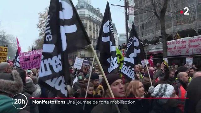 Grève du 5 décembre : une journée de forte mobilisation