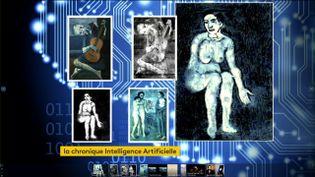 Un tableau de Picasso achevé grâce à l'intelligence artificielle (FRANCEINFO)