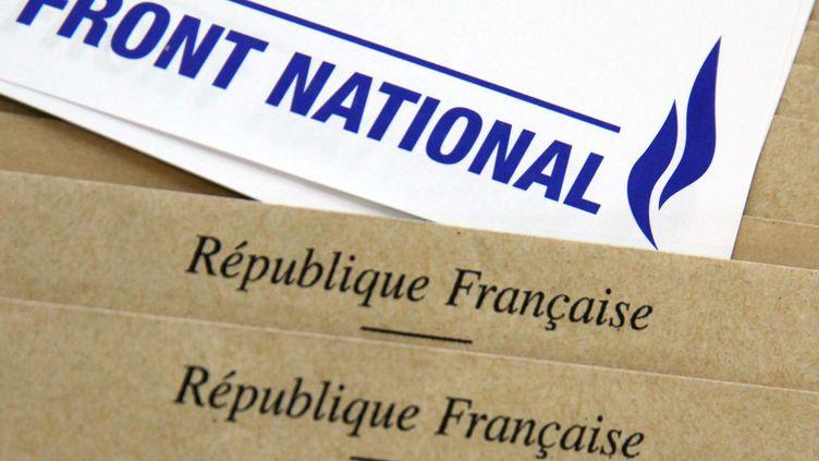 Au total, 62 conseillers FN ont été élus lors des élections départementales, les dimanches 22 et 29 mars 2015 (photo d'illustration). (THIERRY THOREL / CITIZENSIDE.COM / AFP)