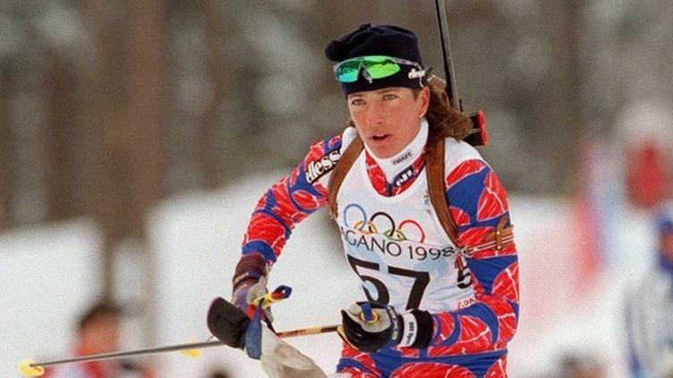 L'ancienne championne de biathlon Manu Claret n'a pu gagner son combat contre la maladie (TAO-CHUAN YEH / AFP)