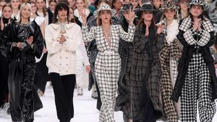 Chanel ah 2019-20 à Paris, mars 2019.  (David Fisher/REX/Shutterstock/SIPA)