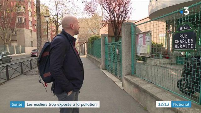 Santé : les écoles trop exposées à la pollution