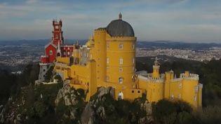 Le château de Pena au Portugal (Capture d'écran France 2)