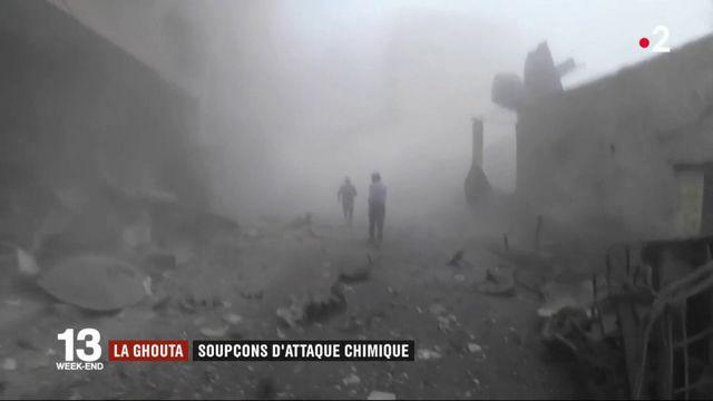 La Ghouta : soupçons d'attaque chimique en Syrie