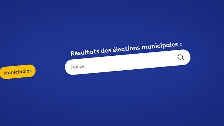 Tous les résultats du second tour des élections municipales 2020 avec notre moteur de recherche (FRANCEINFO)