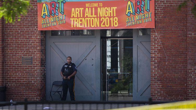 """Le festival """"Art All Night de Trenton"""" dans le New Jersey a été annulé  (DOMINICK REUTER / AFP)"""