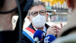 Jean-Luc Mélenchon, le 11 novembre 2020 à Marseille (Bouches-du-Rhône). (MAXPPP)